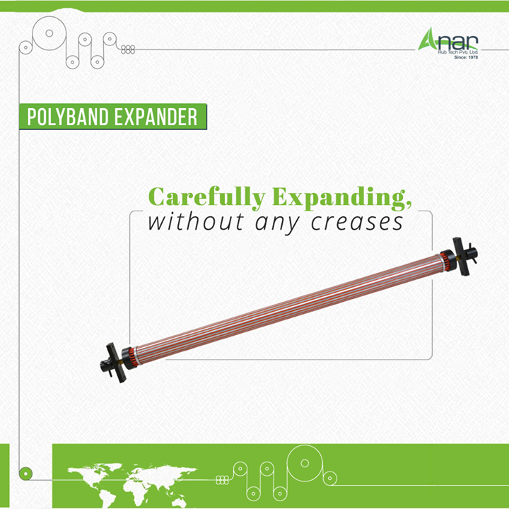 Even the thin micron is expanded with care by Polyband Expander. Like other products, Anar manufactured this too with utmost care and accuracy. #PolybandExpanderRolls #PolybandExpanderRollsManufacturers #PolybandExpanderRollsExporters #PolybandExpanderRollsSuppliers