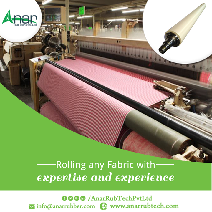 If you are in any Textile Industry, then you need Anar for its expertise manufacturing of Rubber Rollers. Manufacturing Rollers from 3 decades with consistent quality.  #RubberRollers  #RubberRollersManufacturers  #RubberRollersExporters  #RubberRollersSuppliers