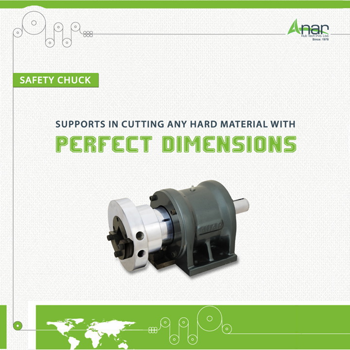 With exact dimensions and shape, Safety Chucks help in assisting machines for cutting any hard material. #SafetyChuck   #SafetyChuckManufacturers   #SafetyChuckExporters   #SafetyChuckSuppliers