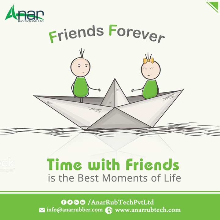 Every moment spent with Friends is the time lived happily. Anar celebrates this Friendship Day by recalling those moments with friends.   #HappyFriendshipDay #FriendshipDay #RubberRollersManufacturers  #RubberRollersExporters  #RubberRollersSuppliers w:http://anarrubtech.com/   E:marketing@anarrubber.com   M:+91 9825405265