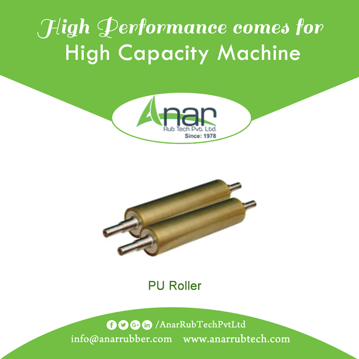 Anar Rub Tech manufactures PU Rollers with high capacity bearing load suitable for almost every industry for maximum quality output.  #PURollersForWeldingRotator #PURollersForWeldingRotatorManufacturers #PURollersForWeldingRotatorExporters #PURollersForWeldingRotatorSuppliers