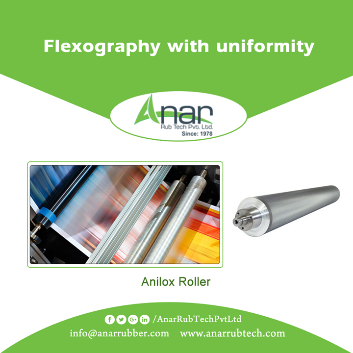 Flexo Printing Industry needs Anilox Roller which is uniform in performance that is made by Anar Rub Tech for better quality and maximum size in diameter.   #AniloxRollerforFlexoPrintingIndustry #AniloxRollerManufacturersFlexoPrintingIndustry #AniloxRollerExportersFlexoPrintingIndustry #AniloxRollerSuppliersFlexoPrintingIndustry