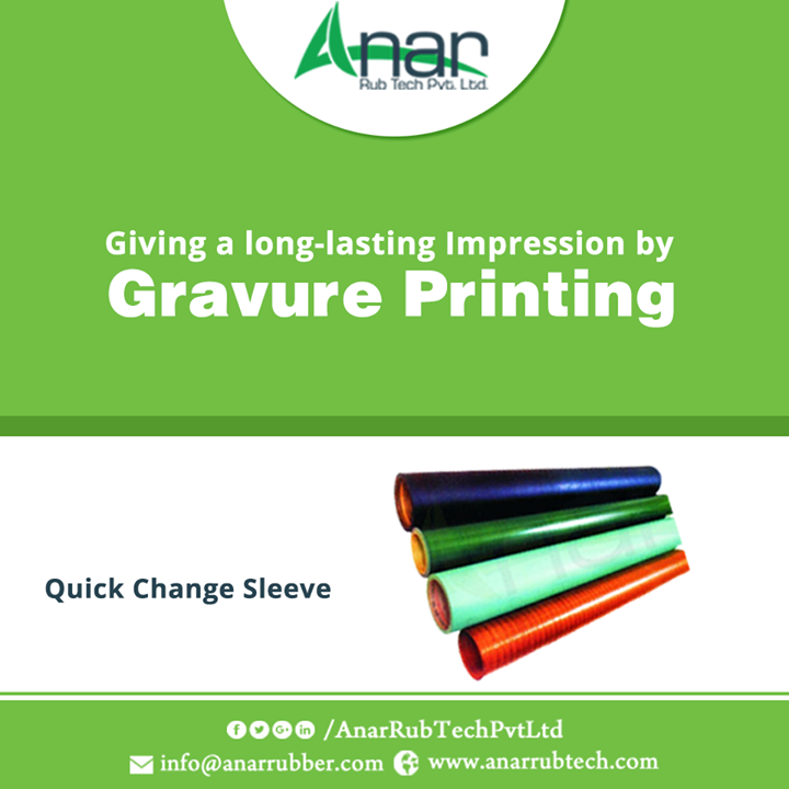 High Quality Sleeves by Anar Rub Tech which is suitable for Gravure Printing and leaving an impression on any surface. #QuickChangeSleeve  #QuickChangeSleeveManufacturers  #QuickChangeSleeveExporters  #QuickChangeSleeveSuppliers  w:http://anarrubtech.com/   E:marketing@anarrubber.com   M:+91 9825405265