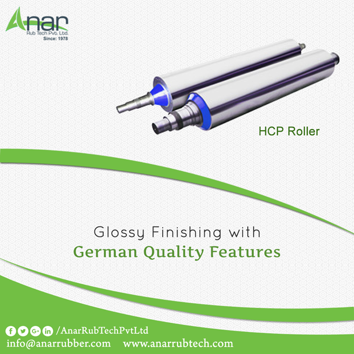 Anar Rub Tech manufactures German Quality HCP Roller that is ideal for any printing and packaging industry with international standards.  #HCPRubberRoller  #HCPRubberRollerManufacturers   #HCPRubberRollerExporters  #HCPRubberRollerSuppliers
