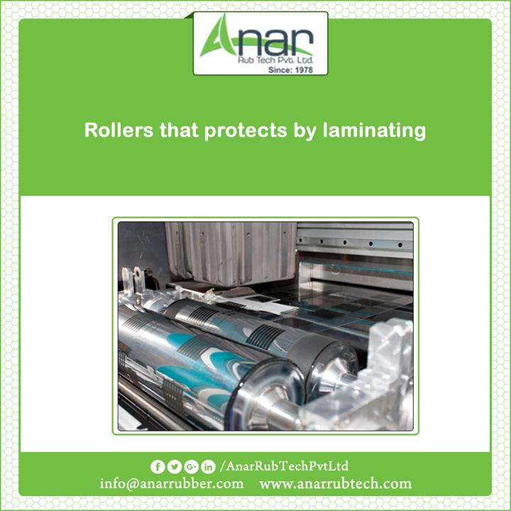 Anar manufactures high efficient Rubber Rollers with better laminating features over every surface material. #RubberRollers  #RubberRollersManufacturers  #RubberRollersExporters  #RubberRollersSuppliers