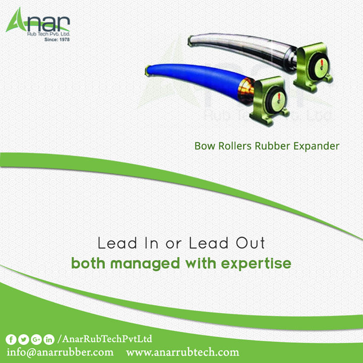 Bow Rollers by Anar Rub Tech featured with high quality features facilitating with Lead In and Lead Out functioning. #BowRollersRubberExpander #BowRollersRubberExpanderManufacturers #BowRollersRubberExpanderExporters #BowRollersRubberExpanderSuppliers