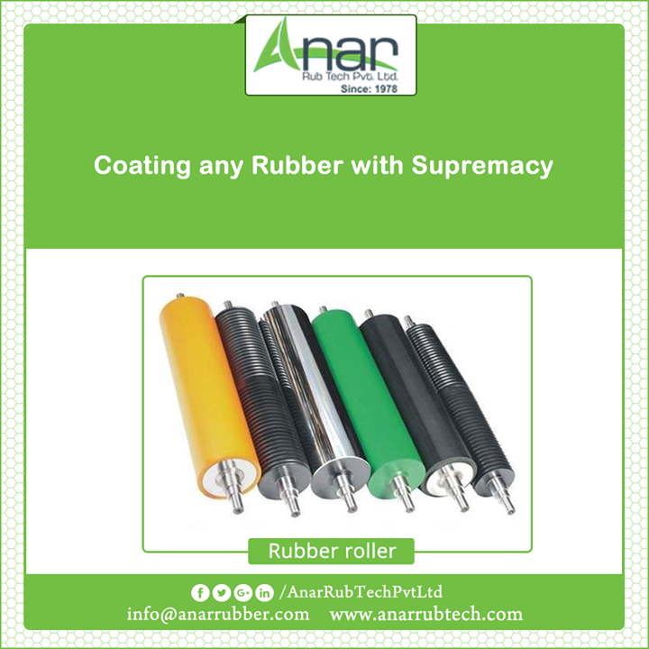 Rubber Roller with bigger diameter and maximum length along with uniform hardness is exclusive by Anar Rub Tech providing supreme quality. #RubberRollers  #RubberRollersManufacturers  #RubberRollersExporters  #RubberRollersSuppliers