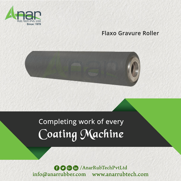 Flaxo Gravure Roller by Anar Rub Tech gives completion to every work of coating machine.  #FlexoGravurePrintingRollers #FlexoGravurePrintingRollersManufacturers  #FlexoGravurePrintingRollersExporters #FlexoGravurePrintingRollersSuppliers
