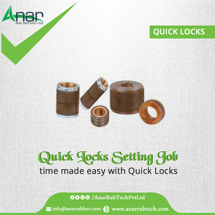 Quick Locks by Anar Rub Tech saves job setting time at any time of processing machines into manufacturing. #QuickLocks #QuickLocksManufacturers #QuickLocksExporters #QuickLocksSuppliers