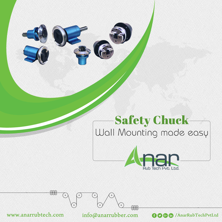 Anar Rub Tech,  SafetyChucks, SafetyChucksManufacturers, SafetyChucksSuppliers, SafetyChucksExporters