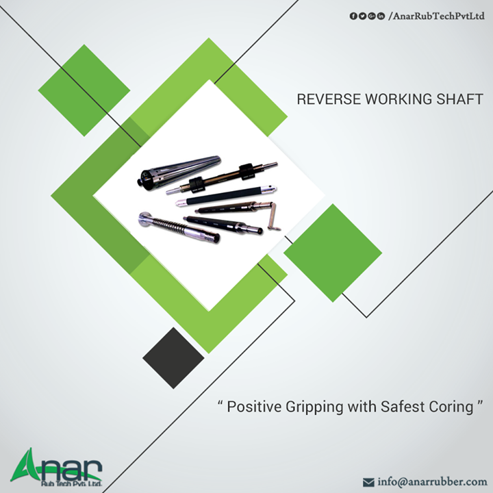 Featured with advanced qualities, Reverse Working Shaft is one of the products of Anar Rub Tech that delivers better quality output #ReverseWorkingShaft #ReverseWorkingShaftManufacturers #ReverseWorkingShaftSuppliers #ReverseWorkingShaftExporters