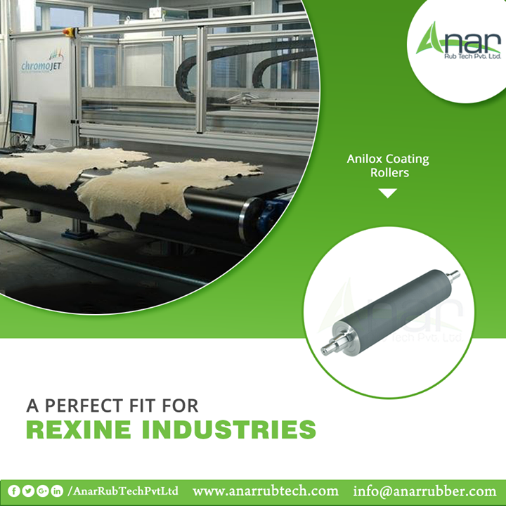 If you have an enterprise of Rexine and business of it, then Anilox Coating Rollers by Anar Rub Tech are the best for your business activities.  #AniloxRoller #AniloxRollerManufacturers #AniloxRollerExporters #AniloxRollerSuppliers