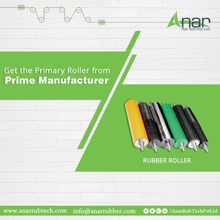 When it comes to high-end quality of Rollers, Anar Rub Tech is the name every industries prefer. Get the Prime need from the Prime Manufacturer.  #RubberRoller #RubberRollerManufacturers #RubberRollerExporters #RubberRollerSuppliers