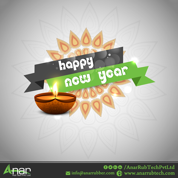 On this New Year, may the glow of diyas light up your path towards progress and continued success.  #HappyNewYear #NewYear#AnarRubTechPvtLtd