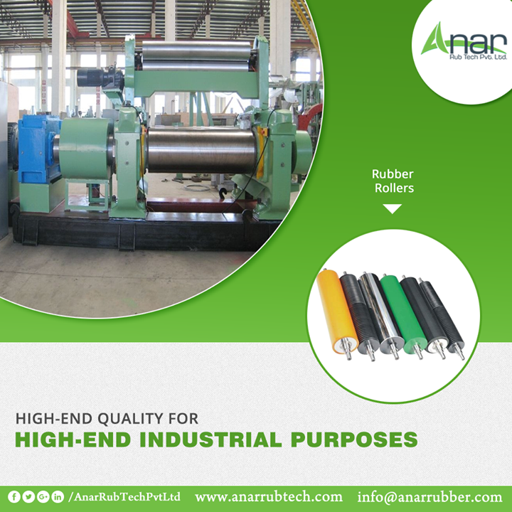 Anar Rub Tech manufactures every Rubber Roller with better quality for better performances for any industrial purposes. #RubberRoller #RubberRollerManufacturers #RubberRollerExporters #RubberRollerSuppliers