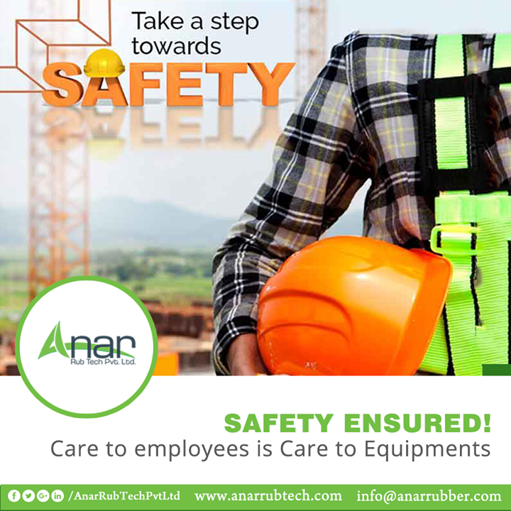 Anar Rub Tech is a name that is not just known for its ultimate quality but for its care and safety towards employees and machines. #AnarRubTechPvtLtd
