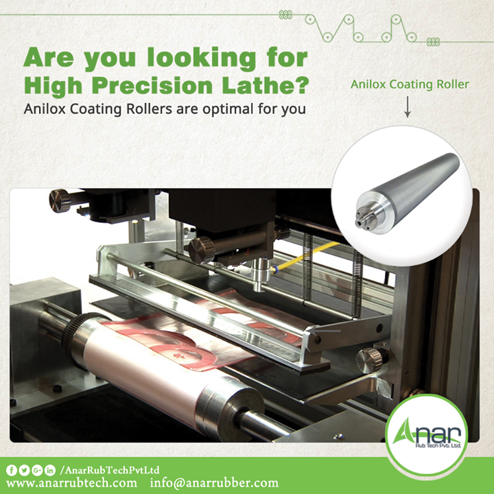 Any manufacturing process needs high precision lathe which is assured by Anar Rub Tech from its Anilox coating Rollers. #AniloxcoatingRollers #AniloxcoatingRollersManufacturers #AniloxcoatingRollersSuppliers #AniloxcoatingRollersExporters