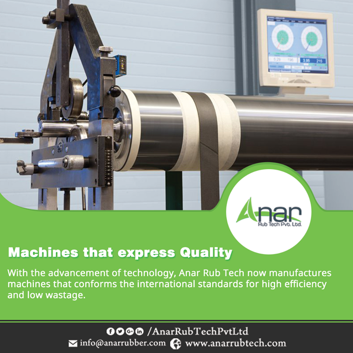With the advancement of technology, Anar Rub Tech now manufactures machines that conforms the international standards for high efficiency and low wastage.  #AnarRubTechPvtLtd