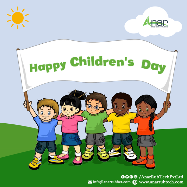 Anar Rub Tech,  BalDiwas, ChildrenDay, HappyChildrenDay, AnarRubTechPvtLtd