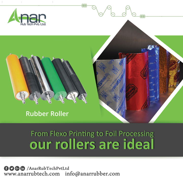 High Quality rubber Rollers are apt for manufacturing process and making every operational activities easy.  #RubberRollers #RubberRollersManufacturers #RubberRollersSuppliers #RubberRollersExporters