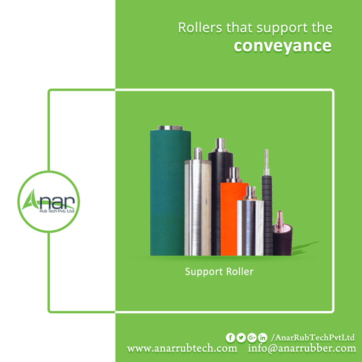 Support rollers by Anar Rub Tech Pvt. Ltd. provides better conveyance in elevators and transmitting activities with utmost perfection and longer term.  #SupportRollers #SupportRollersManufacturers #SupportRollersSuppliers #SupportRollersExporters