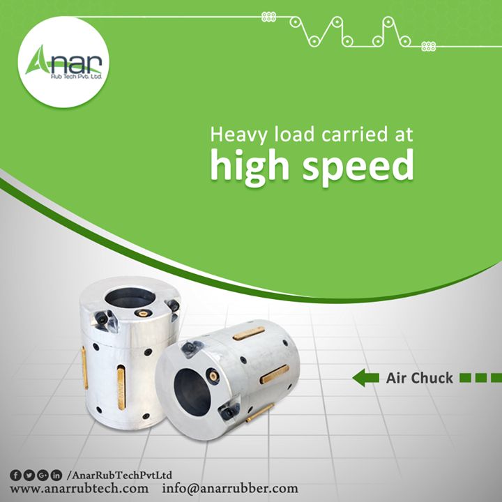 Anar manufactures Air Chuck which gives high speed performance even at the heavier load and with uneven inside diameter. #AirChuck #AirChuckManufacturers #AirChuckSuppliers #AirChuckExporters