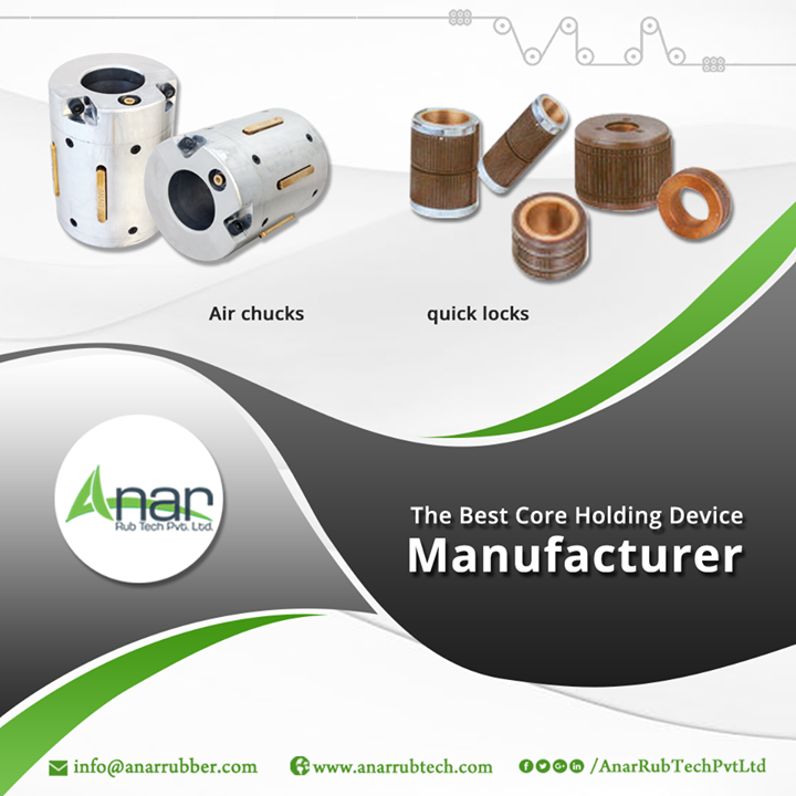 Protection of the core is a necessary thing and this guard is provided by core holding devices. Air chucks and quick locks are the popular types of holding devices which shield the core and reduce the cost of production. Our core holding devices are manufactured with precision and quality. #CoreHoldingDevice #CoreHoldingDeviceManufacturers #CoreHoldingDeviceSuppliers #CoreHoldingDeviceExporters