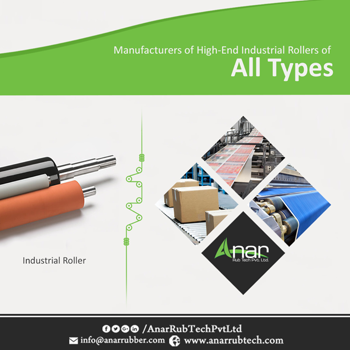 Rubber Rollers are a kind of industrial rollers that are durable and long lasting. They are widely used in various industries like printing, packaging, textile etc. and are popularly known as industrial rollers. Some of the varieties include Cork rollers, Teflon rollers, M.S. polished rollers, aluminium rollers etc. We are a worldwide supplier, exporter and manufacturer of industrial rollers. #IndustrialRollers #IndustrialRollersManufacturers #IndustrialRollersSuppliers #IndustrialRollersExporters