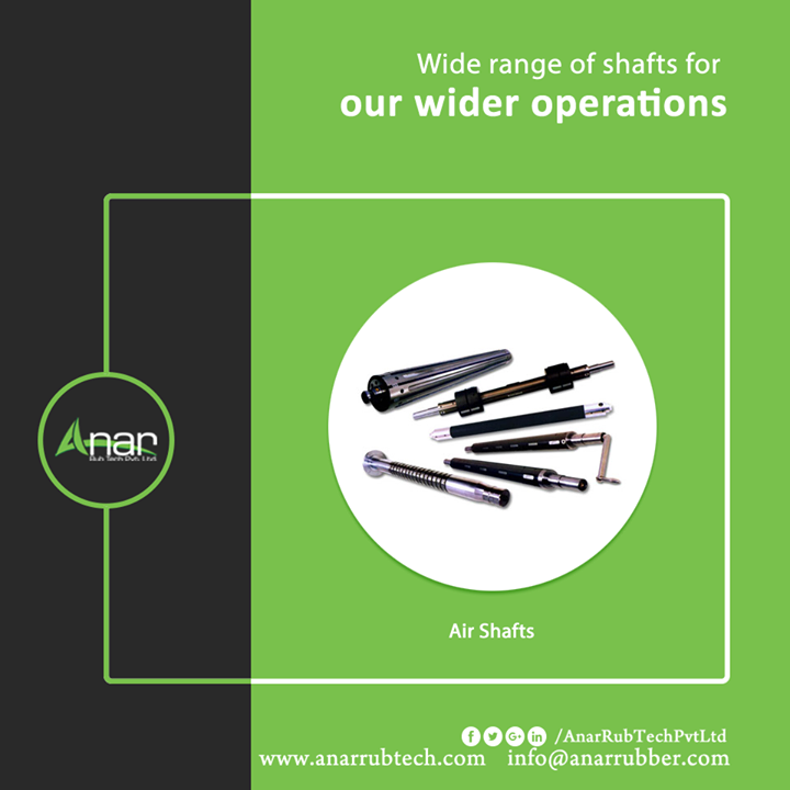 Air Shafts by Anar has a wide range featuring no core damage and saving loading and unloading time. Covering almost every industry, Anar has manufactured omnipresent machines everywhere. #AirShafts #AirShaftsManufacturers #AirShaftsSuppliers #AirShaftsExporters