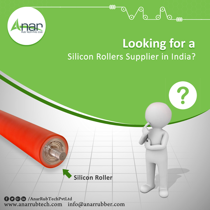 Lately, silicon has become a favorite coating material for industrial usage as it is non reactive and has extreme temperature tolerance. So, silicon rollers have found their use both industrial and medical fields. These rollers are available in various shapes, sizes and colors and are quite affordable. The silicon rollers supplier in India, we have earned reputation as a leading manufacturer and exporter due to supply of quality products at highly competitive prices. #SiliconRollers #SiliconRollersManufacturers #SiliconRollersSuppliers #SiliconRollersExporters