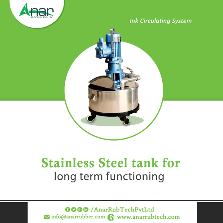 Ink Circulating System is packed up with extra features and prepared for better flow of ink with least wastage. #InkCirculatingSystem #InkCirculatingSystemManufacturers #InkCirculatingSystemSuppliers #InkCirculatingSystemExporters