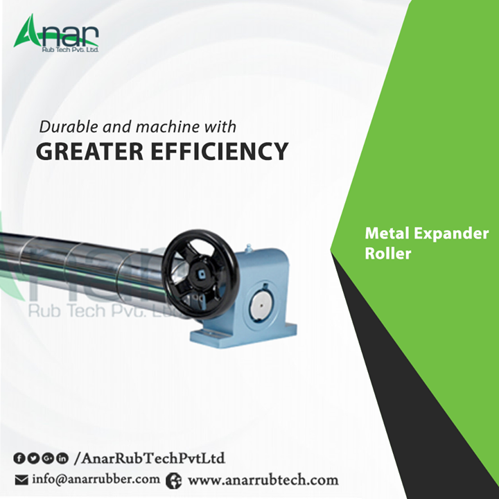 Wide Range of Metal Expander Roller utilized for better performance and applied at every paper industry with heavy weight and better length.  #MetalExpanderRoller  #MetalExpanderRollerManufacturers #MetalExpanderRollerSuppliers #MetalExpanderRollerExporters