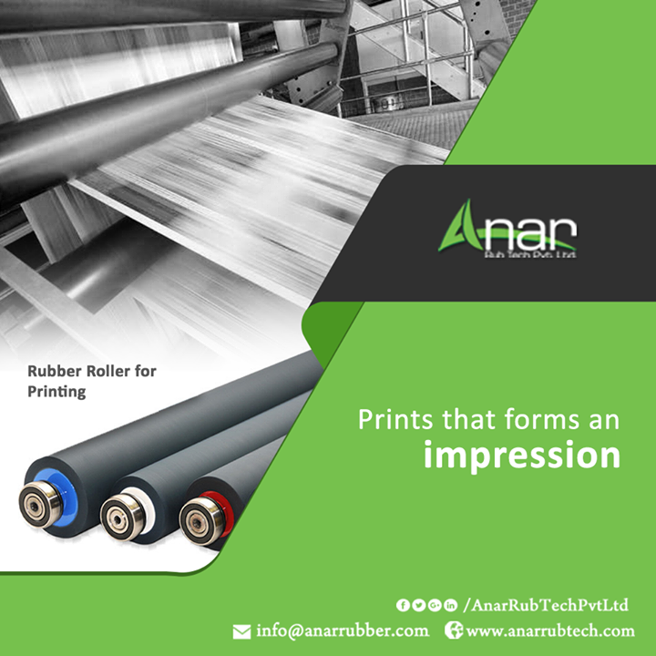 For any printing and decor purposes, Rubber Roller from Anar Rub Tech stands first on quality. For any house or office, print the best impression on walls and charm the interior.  #AnarRubTechPvtLtd