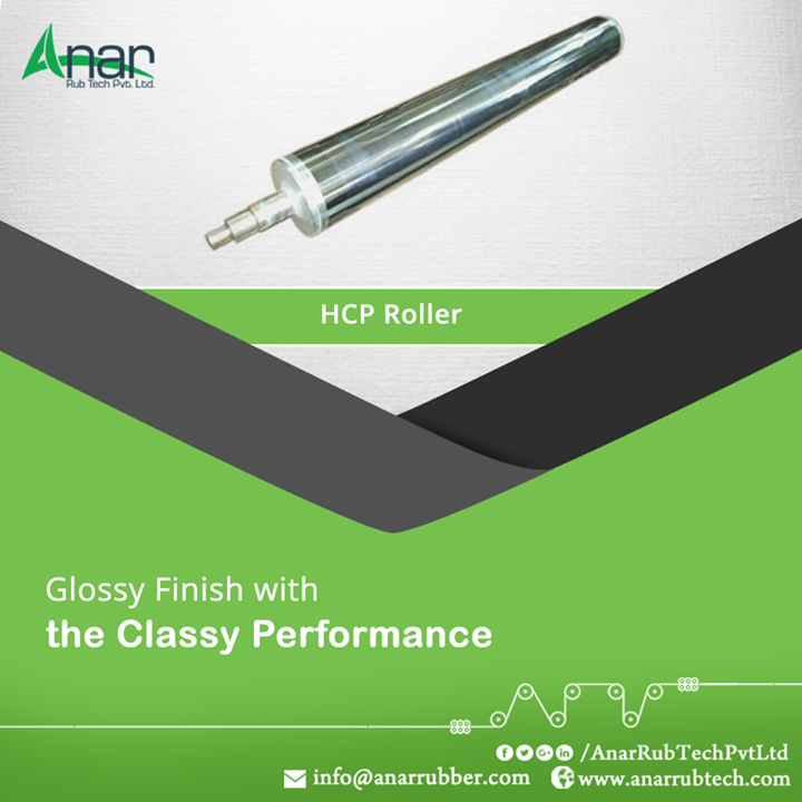 HCP Rollers by Anar Rub Tech are well manufactured with German Finishing Machine for better glossy finishing and capable of functioning up to 10 tonnes.  #HCPRollers #HCPRollersManufacturers #HCPRollersSuppliers #HCPRollersExporters
