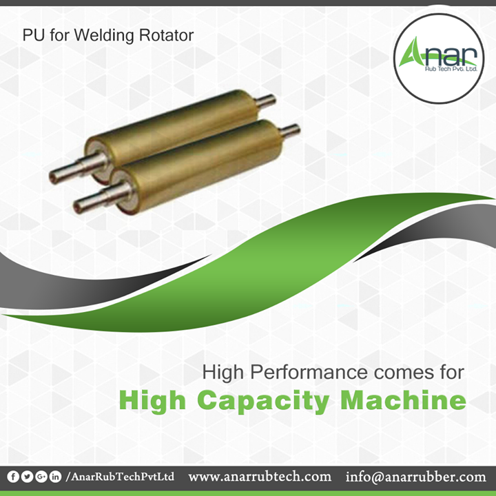 Anar Rub Tech manufactures PU Rollers with high capacity bearing load suitable for almost every industry for maximum quality output.  #PURollers #PURollersManufacturers #PURollersSuppliers #PURollersExporters