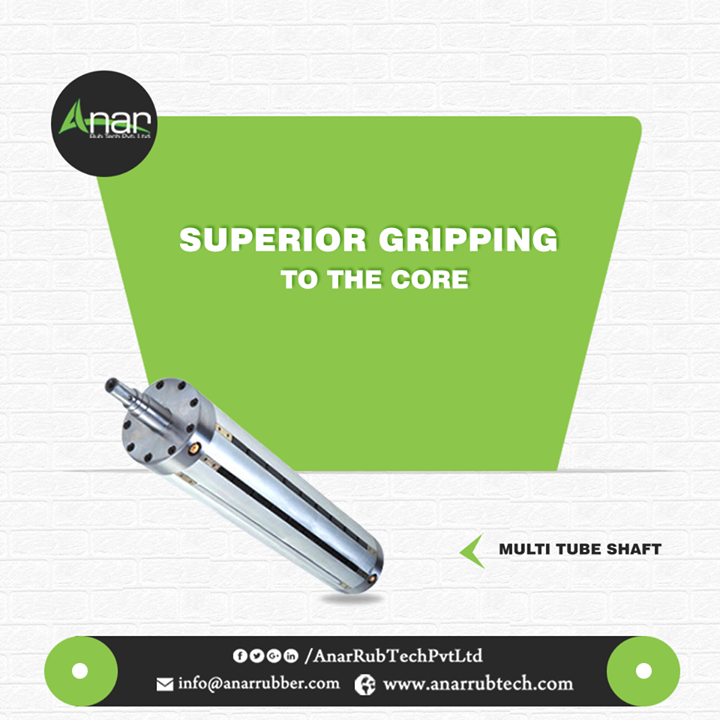 Anar Rub Tech manufactures Multi Tube Shaft which is superior enough to grip every core material and can also be used in every packaging, printing and plastic industry. #MultiTubeShaft #MultiTubeShaftManufacturers #MultiTubeShaftSuppliers #MultiTubeShaftExporters