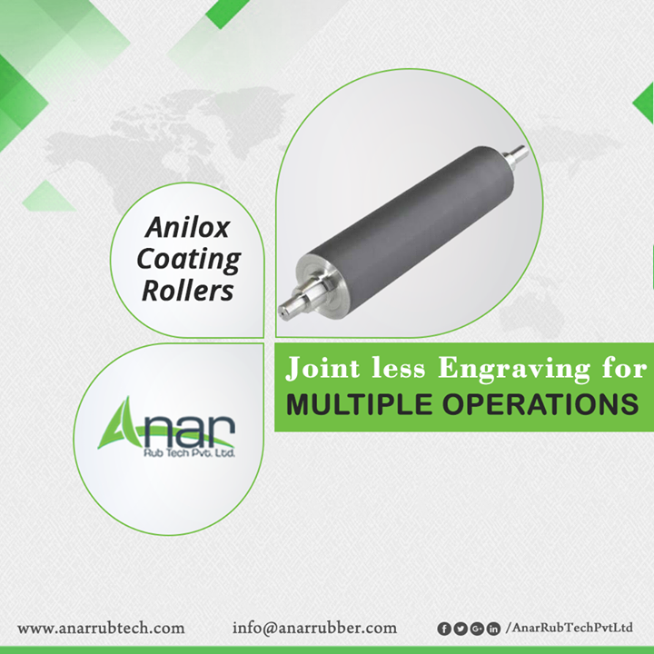 Joint less Engraved Anilox Coating Rollers by Anar Rub Tech that are usable by multiple industries for better functioning of operational activities.  #AniloxCoatingRollers #AniloxCoatingRollersManufacturers #AniloxCoatingRollersSuppliers #AniloxCoatingRollersExporters