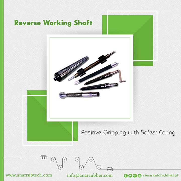 Featured with advanced qualities, Reverse Working Shaft is one of the products of Anar Rub Tech that delivers better quality output.  #ReverseWorkingShaft #ReverseWorkingShaftManufacturers #ReverseWorkingShaftSuppliers #ReverseWorkingShaftExporters