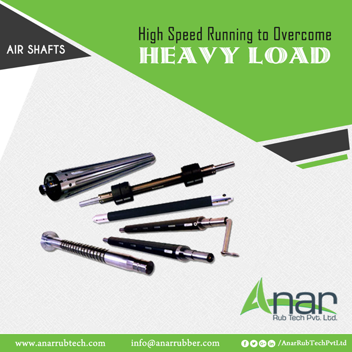 Anar Rub Tech manufactures Air Shafts that are highly function-able to overweight the heavy load and perform efficiently. #AirShafts #AirShaftsManufacturers #AirShaftsSuppliers #AirShaftsExporters