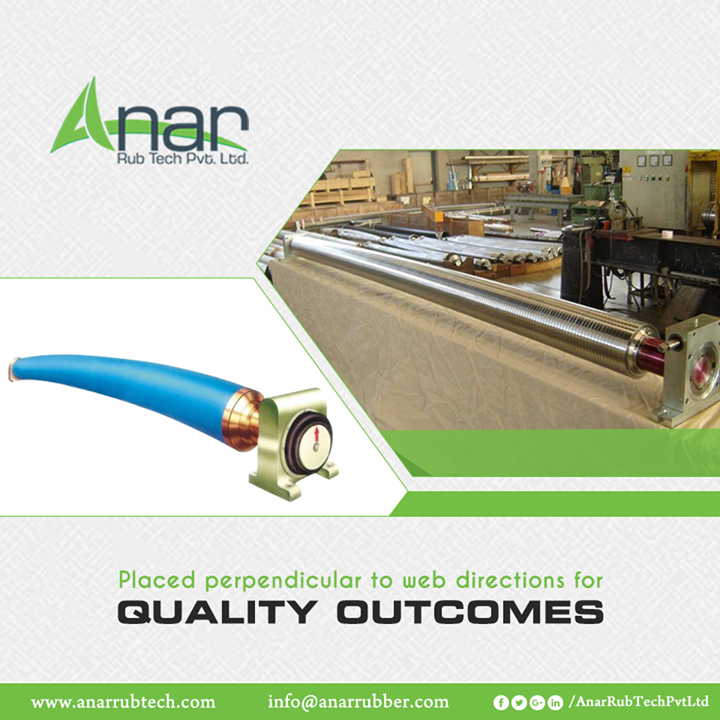 Bow Rollers Rubber Expander by Anar Rub Tech are placed perpendicular for quality outcomes in all the situations. #BowRollers #AnarRubTechPvtLtd