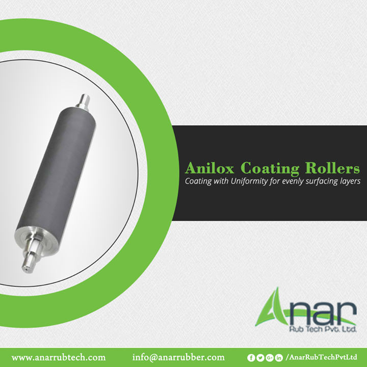 Anar Rub Tech manufactures Copper made Anilox Coating Rollers with enough thickness and hardness in rolling any substance. #AniloxCoatingRollers #AniloxCoatingRollersManufacturers #AniloxCoatingRollersSuppliers #AniloxCoatingRollersExporters
