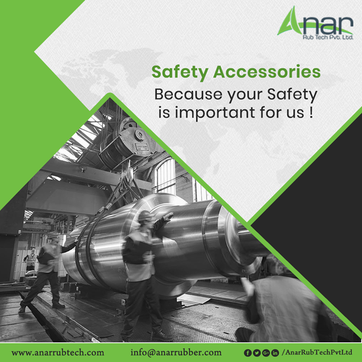 When it comes to Safety for employees, Anar Rub Tech also provides proper safeguards to its employees for their betterment and security. #AnarRubTechPvtLtd