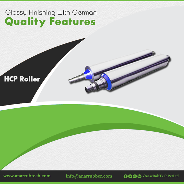 Anar Rub Tech manufactures German Quality HCP Roller that is ideal for any printing and packaging industry with international standards. #HCPRoller #HCPRollerManufacturers #HCPRollerSuppliers #HCPRollerExporters