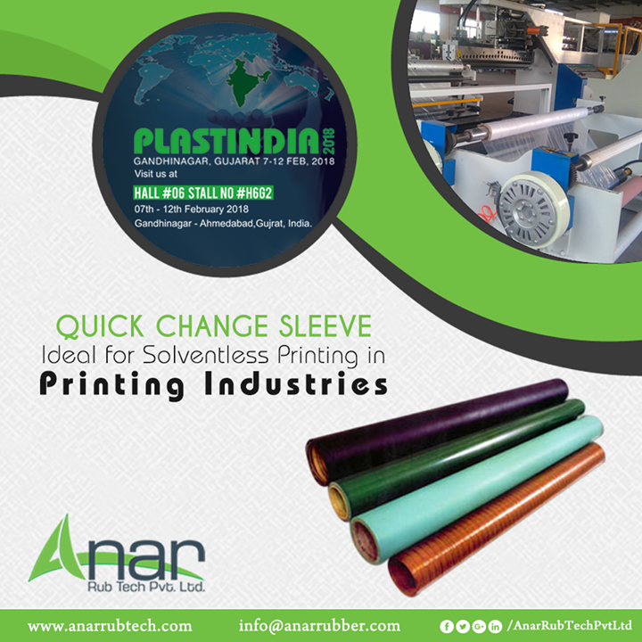 Anar Rub Tech,  QuickChangeSleeve, QuickChangeSleeveManufacturers, QuickChangeSleeveSuppliers, QuickChangeSleeveExporters