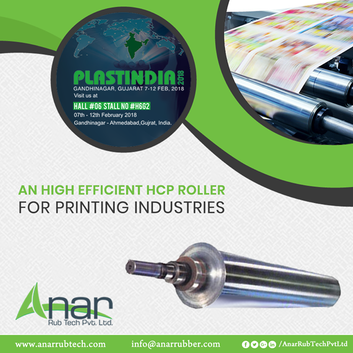 Anar Rub Tech,  HCPRoller, HCPRollerManufacturers, HCPRollerSuppliers, HCPRollerExporters