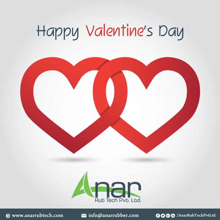 Anar Rub Tech wishes you a very Happy Valentines Day and feels grateful for your love and gratitude for our company.  #ValentinesDay #HappyValentinesDay #AnarRubTechPvtLtd