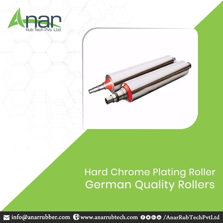 HCP Roller by Anar Rub Tech is made by German technology to give the best finishing to every product. These rollers give tonnes of capacity to function steadily and give a mirror like gloss finishing. #HCPRoller #HCPRollerManufacturers #HCPRollerSuppliers #HCPRollerExporters