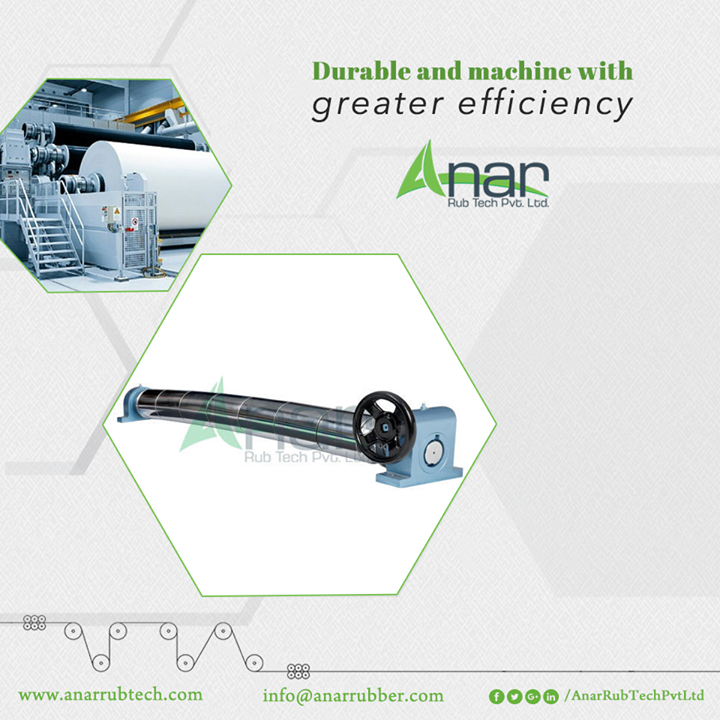 Wide Range of Metal Expander Roller by Anar Rub Tech is utilized for better performance and applied at every paper industry with heavy weight and better length.  #MetalExpanderRoller #MetalExpanderRollerManufacturers #MetalExpanderRollerSuppliers #MetalExpanderRollerExporters