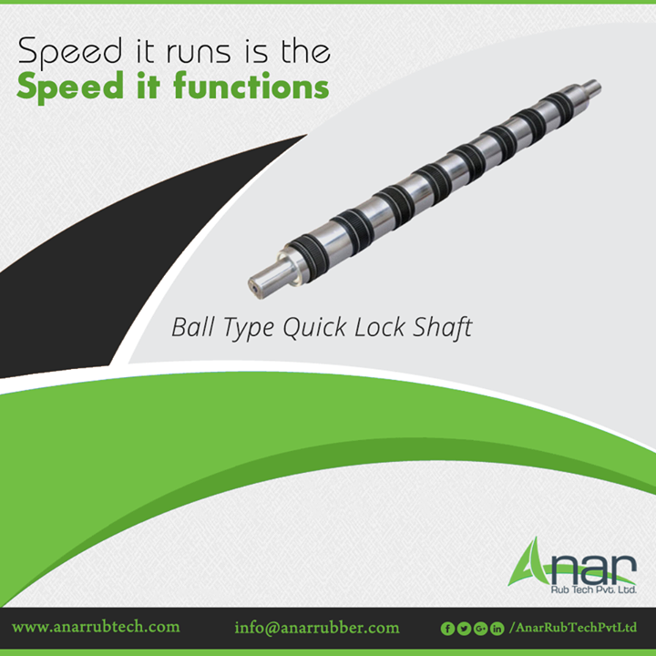 Anar Rub Tech manufactures Ball Type Quick Lock Shaft which is high in speed and durable enough to function smoothly and fast. #BallTypeQuickLock #BallTypeQuickLockManufacturers #BallTypeQuickLockSuppliers #BallTypeQuickLockExporters