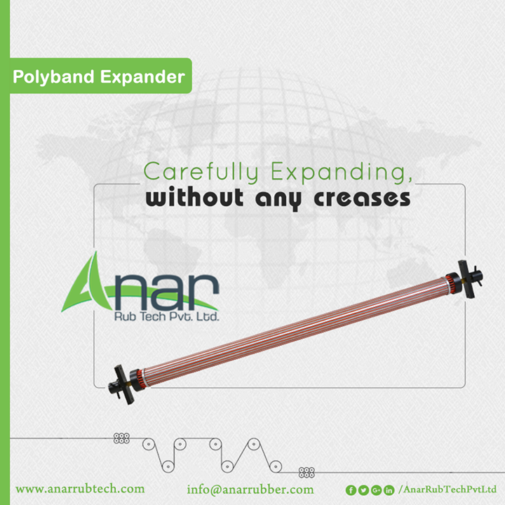 Even the thin micron is expanded with care by Polyband Expander. Like other products, Anar Rub Tech manufactures this too with utmost care and accuracy.  #PolybandExpander #PolybandExpanderManufacturers #PolybandExpanderSuppliers #PolybandExpanderExporters